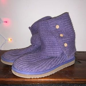 UGG Classic Cardy Knit Boots